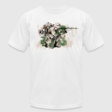 Soldier - Men's Fine Jersey T-Shirt