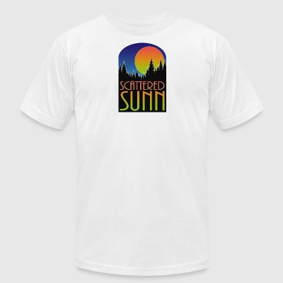 SUNN color - Men's T-Shirt by American Apparel