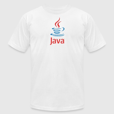 Java - Men's T-Shirt by American Apparel