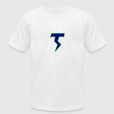 Thunder T - Men's T-Shirt by American Apparel
