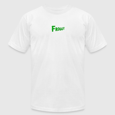 FROGGY - Men's T-Shirt by American Apparel