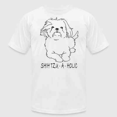 SHIHTZU a holic - Men's T-Shirt by American Apparel