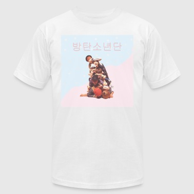 Bangtan Graphic Design - Men's Fine Jersey T-Shirt