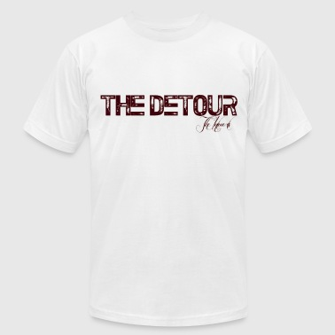 The Detour - Men's Fine Jersey T-Shirt