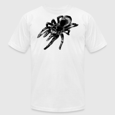 Tarantula - Original Drawing - Men's T-Shirt by American Apparel