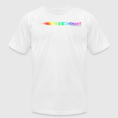 Gods Covenant V1 - Men's T-Shirt by American Apparel