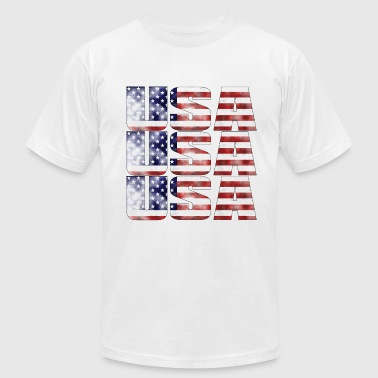 America2 - Men's T-Shirt by American Apparel