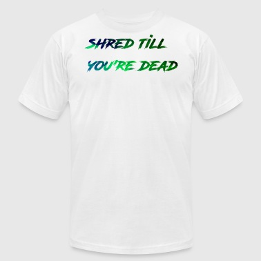 Shred - Men's T-Shirt by American Apparel