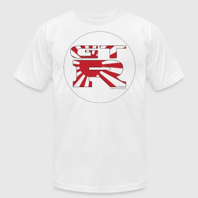 GTR Flag - Men's T-Shirt by American Apparel
