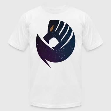 Space lion mask - Men's T-Shirt by American Apparel