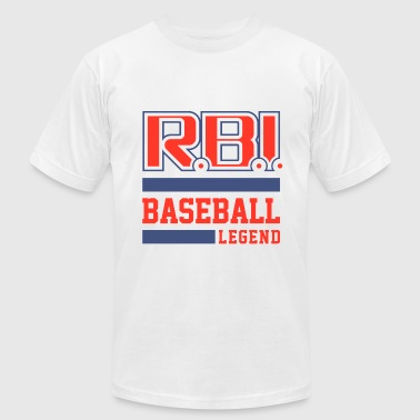 RBI Baseball Legend.png - Men's Fine Jersey T-Shirt