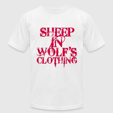 Sheep In Wolf's Clothing - Men's Fine Jersey T-Shirt