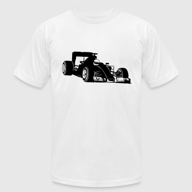 Formula One Racing - Men's Fine Jersey T-Shirt