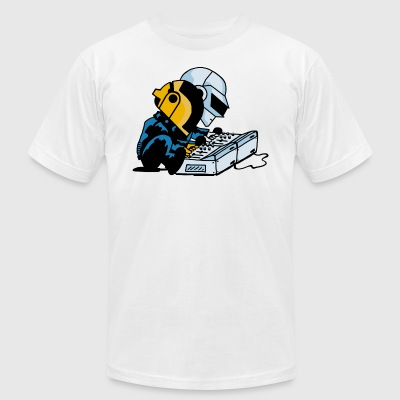 Daft Nuts - Men's T-Shirt by American Apparel