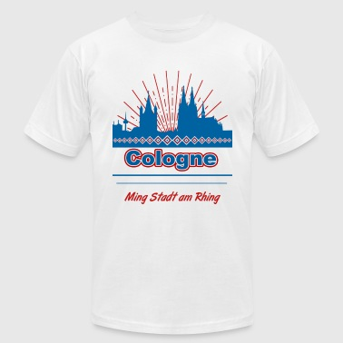 Cologne - Men's T-Shirt by American Apparel