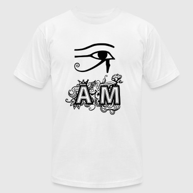 I AM - Men's T-Shirt by American Apparel