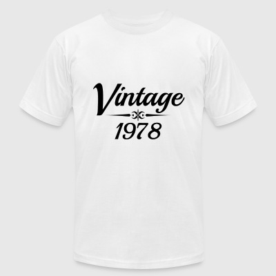 VINTAGE 1978 - Men's T-Shirt by American Apparel
