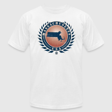 State of Massachusetts - Men's Fine Jersey T-Shirt