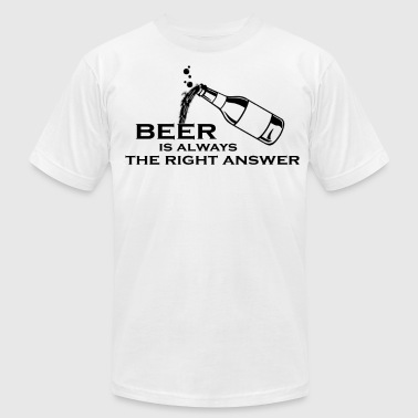 Beer - Men's Fine Jersey T-Shirt