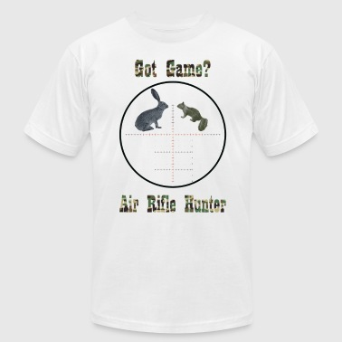 Got Game Air Rifle Hunter T-shirt - Men's Fine Jersey T-Shirt