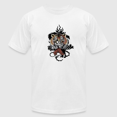 tiger_style - Men's Fine Jersey T-Shirt