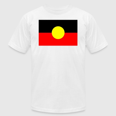 ABORIGINAL FLAG - Men's T-Shirt by American Apparel
