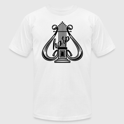Harp Shirt - Men's T-Shirt by American Apparel