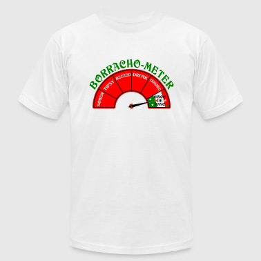 Borracho Drunk Meter Cinco De Mayo design. - Men's Fine Jersey T-Shirt