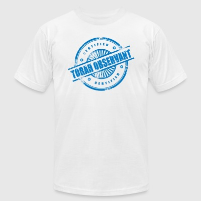 Certified Torah Observant - Men's T-Shirt by American Apparel