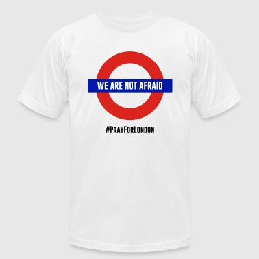 War on terrorism. We are not afraid. - Men's Fine Jersey T-Shirt