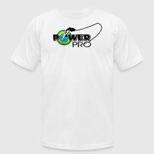 POWER PRO FISHING LINE - Men's T-Shirt by American Apparel