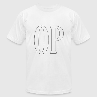 OP Shirt - Men's T-Shirt by American Apparel