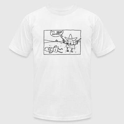 Its Nacho Business - Men's T-Shirt by American Apparel