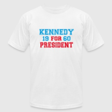 Kennedy 1960 Retro - Men's Fine Jersey T-Shirt
