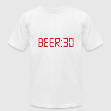 Beer 30 Thirty Irish Humor - Men's Fine Jersey T-Shirt