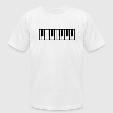 Piano - Men's Fine Jersey T-Shirt
