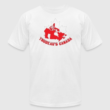 Trudeaus Canada - Men's T-Shirt by American Apparel