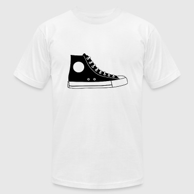 shoe - Men's T-Shirt by American Apparel