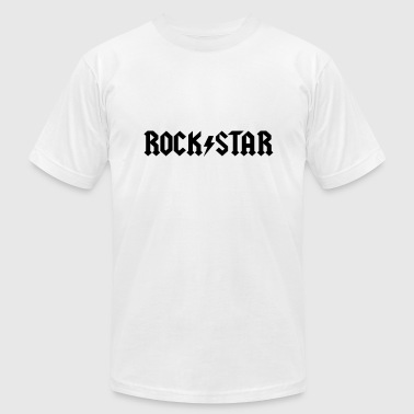rockstar - Men's T-Shirt by American Apparel