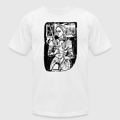Joan Of Arc - Men's T-Shirt by American Apparel