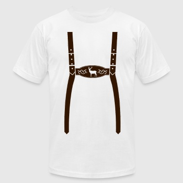 German Lederhosen - Men's Fine Jersey T-Shirt