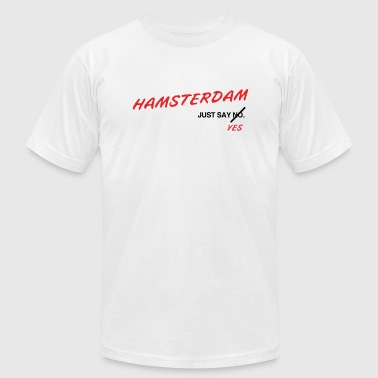 Hamsterdam: Light - Men's Fine Jersey T-Shirt