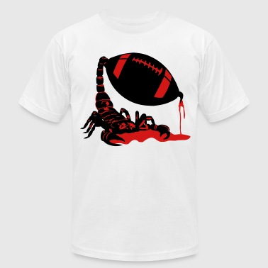 scorpion football - Men's Fine Jersey T-Shirt