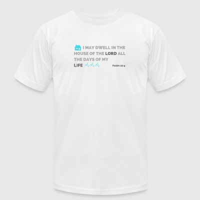 Psalm 27:4 - Men's T-Shirt by American Apparel