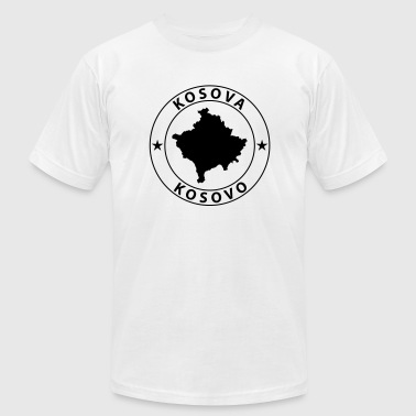 Kosovo Design - Men's T-Shirt by American Apparel