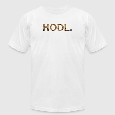 HODL - Men's T-Shirt by American Apparel