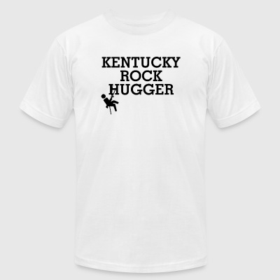KENTUCKY - KENTUCKY ROCK HUGGER - Men's T-Shirt by American Apparel