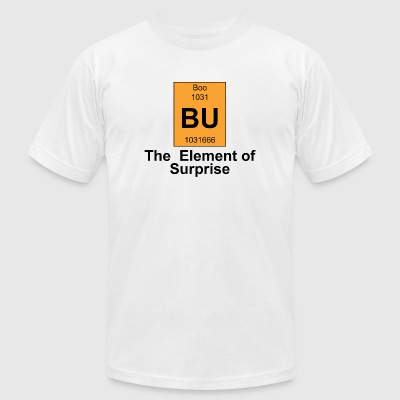 Boo - Boo The Element of Surprise - Men's T-Shirt by American Apparel