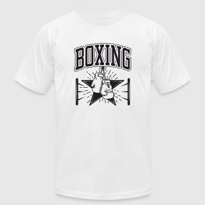 Boxing - Boxing - Men's T-Shirt by American Apparel