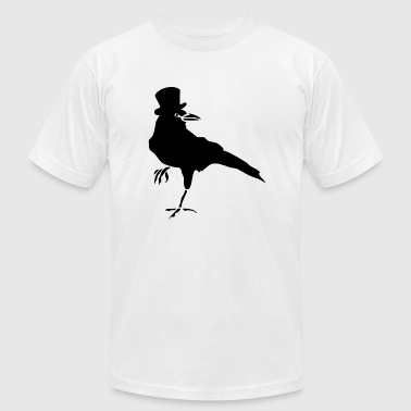 Bird - HELLO MISTER CROW - Men's T-Shirt by American Apparel